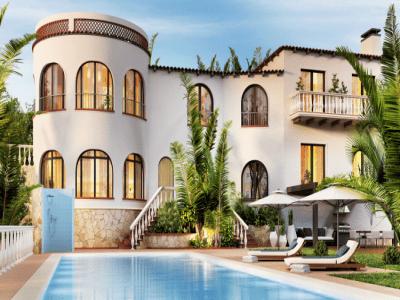 Phong cách Địa Trung Hải là gì trong thiết kế kiến trúc nội thất?
