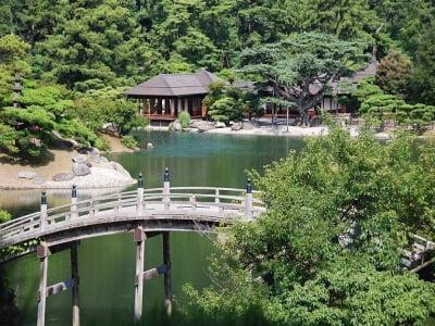 Yếu tố vườn trong kiến trúc Nhật Bản