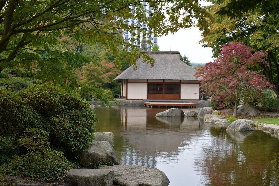 Kiến trúc Nhật Bản nhà vườn gắn liền