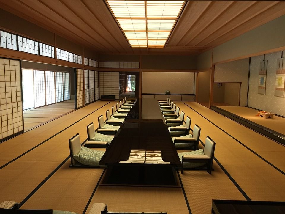 Nội thất của người Nhật làm bằng gỗ